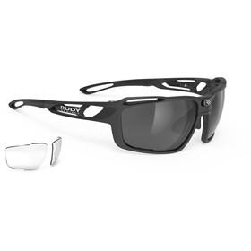 Rudy Project Sintryx Lunettes, matte black/smoke black/transparent